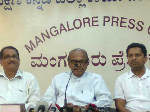 Senior Congress leader Poojary challenges Yeddyurappa to reveal names of 'corrupt' ministers