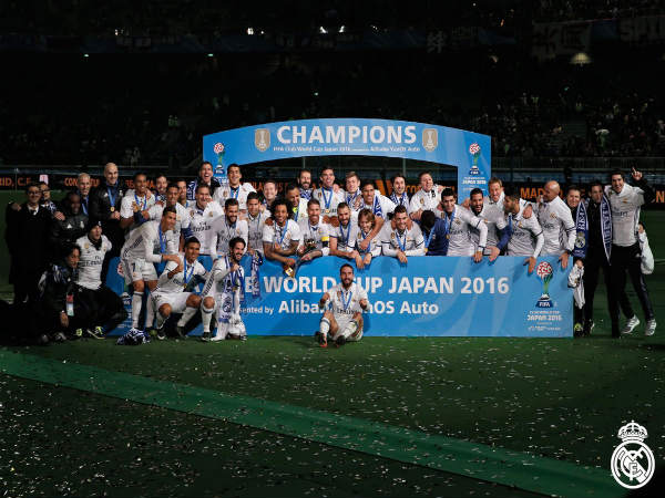 Real Madrid beat Kashima Antlers 4-2 to win Club World Cup