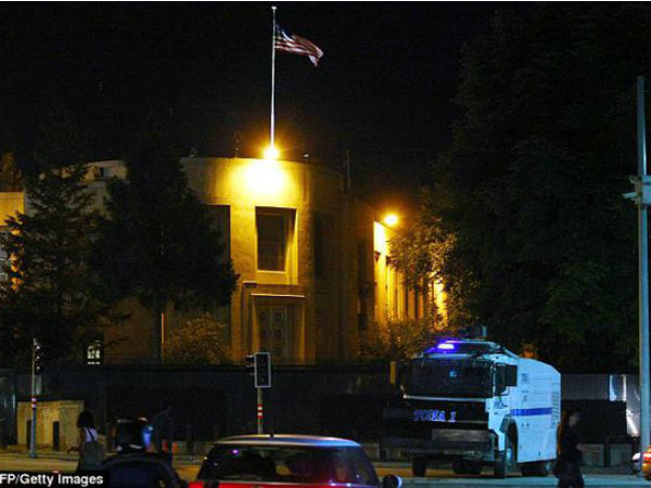 Gunman opens fire and tries to storm US embassy in Ankara