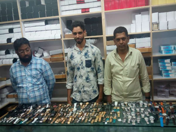 Fake Watch racket: 1.8 crore valuable 541 clocks Seized