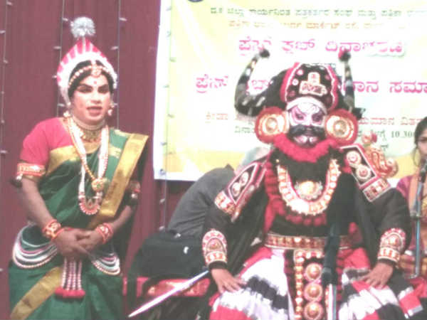 press club day Mangaluru district journalists successfuly performed yakshagana