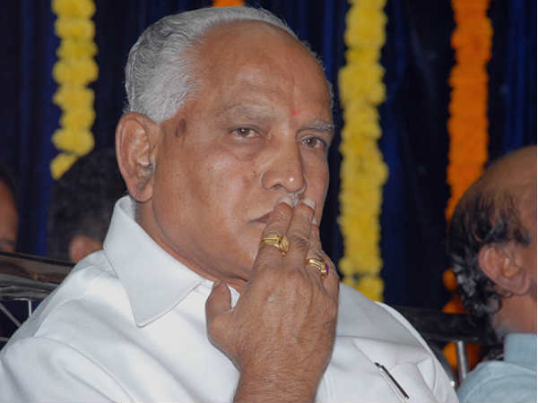 BSY said 3 MP's give to resign with cm siddaramaiah
