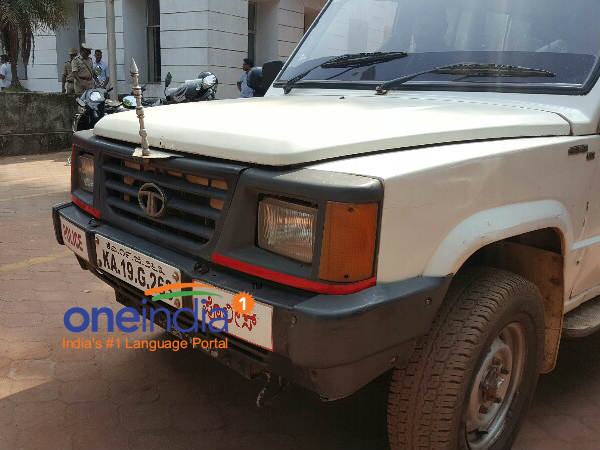 Miserable story of Kavoor police station jeep in Mangaluru