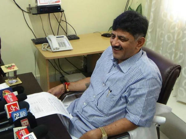 No Load Shedding but expect Power Fluctuations : DK Shivakumar