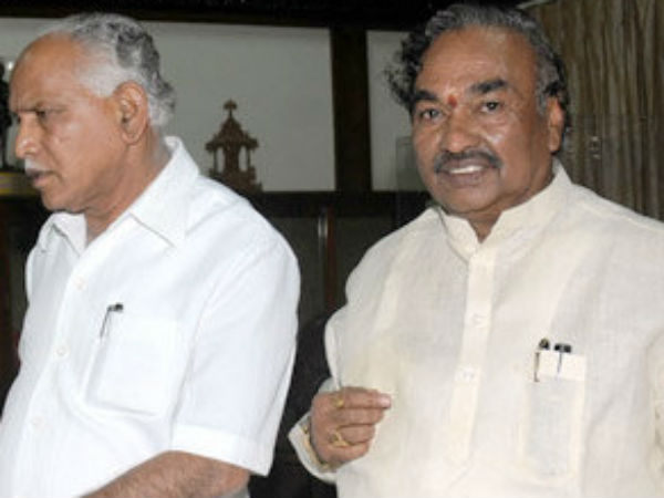 Yeddyurappa and Eshwarappa between ongoing the tussle, Today(Jan 27) meeting in delhi