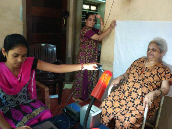 BED-RIDDEN SENIOR CITIZEN GETS AADHAAR ENROLLED AT HER HOME