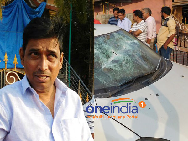 Ullala councillor car damaged by anti social elements
