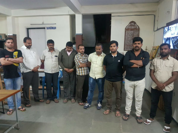 Bengaluru CCB police arrested 10 people; allegedly running betting racket
