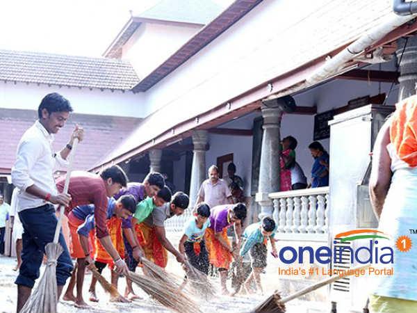 More Lakh People Cleaned Up Religious Places Across Karnataka Before Makara Sankranthi