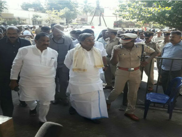 HS. Mahadevaprasad passed away: CM  took the final walkthrough in mysuru