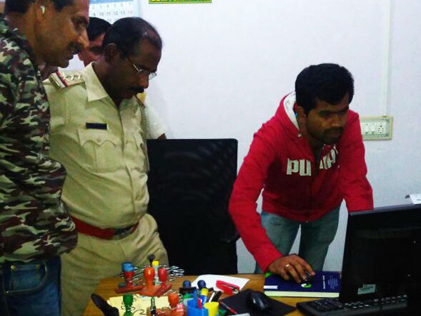 Kavery Grameen Bank robber in a failed attempt in Mandya