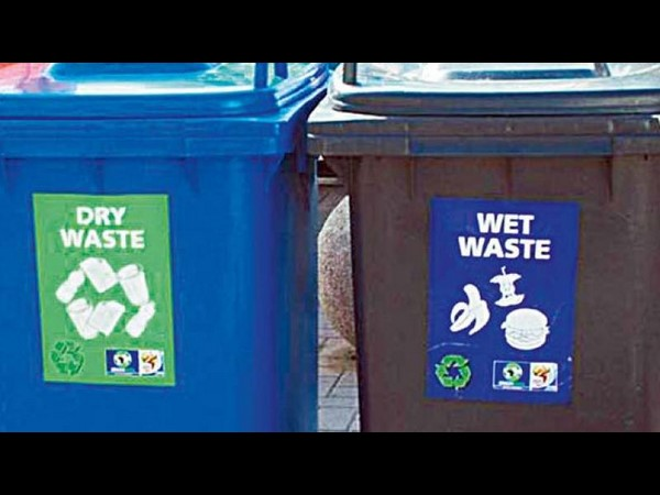 Segregate your waste or pay fine from February 1st