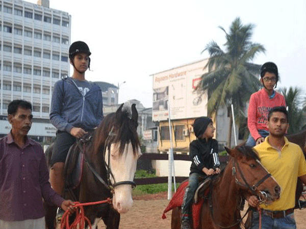 Avinand Achanahally opens Horse Riding academy in Mangaluru.