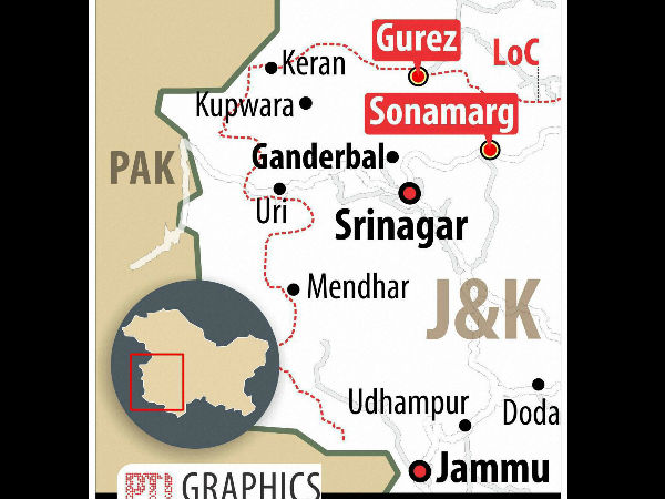 Two Avalanches In J & K's Gurez, 6 Dead