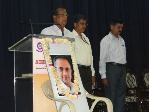 JSS College pays rich tribute to HS Mahadeva Prasad