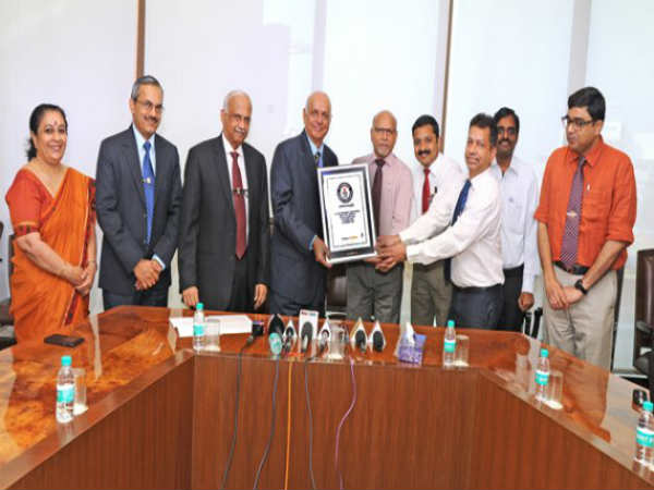 Manipal Kasturba Hospital Enters Guinness Book World Records For Hand Sanitization Relay