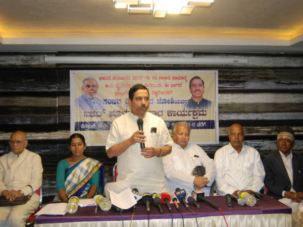 The central government approved Hubballi-Ankola railway line project says mp Pralhad Joshi