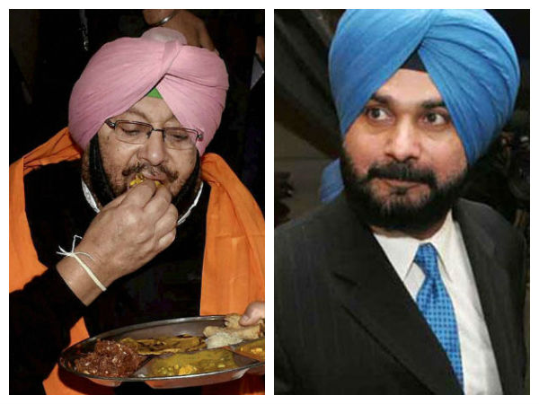 Punjab elections: The war between Sidhu and Captain continues