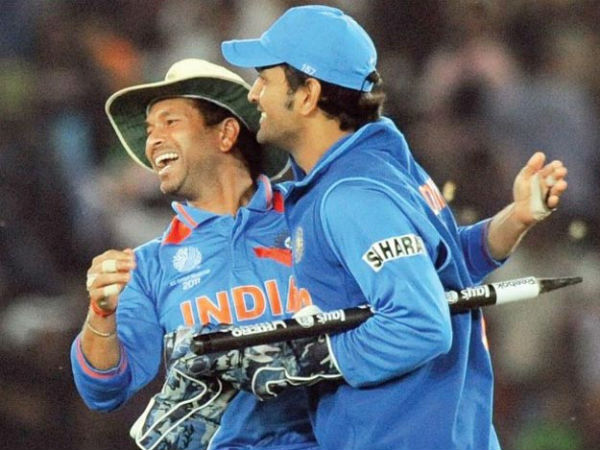 Sachin Tendulkar speaks on MS Dhoni's decision to quit captaincy