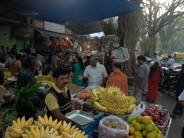 Dull business in markets of bengaluru for this sankranti