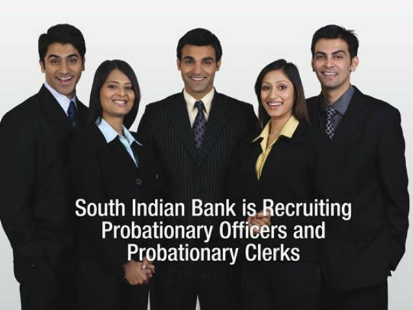 South Indian Bank Recruitment 2017 Apply Online (537 Posts)