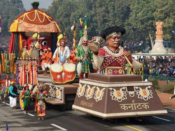 2017ರ ಗಣರಾಜ್ಯೋತ್ಸವ ಪರೇಡ್ ನಲ್ಲಿ ಕರ್ನಾಟಕದ ಜನಪದ ಹೆಜ್ಜೆ