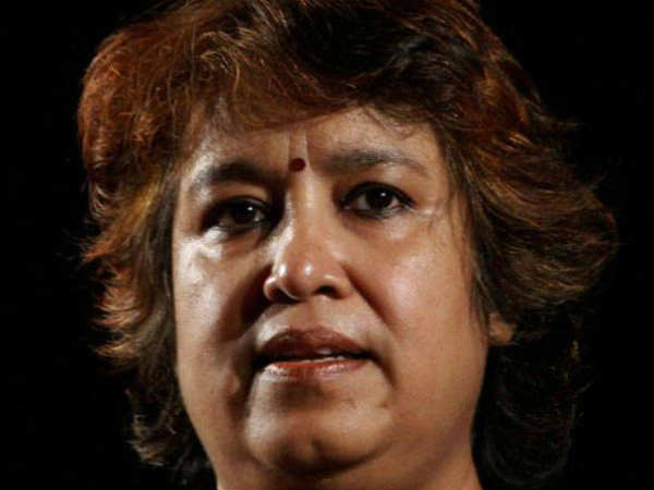 Protest against Taslima Nasreen's presence at Jaipur Literature Festival