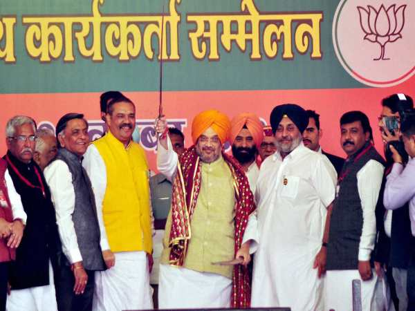 Fissures in Punjab BJP ahead of polls