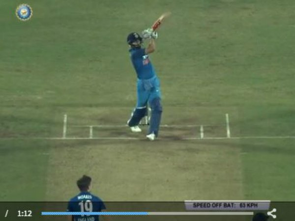 Must-see Video: Virat Kohli's unbelievable 6 off Chris Woakes in 1st ODI