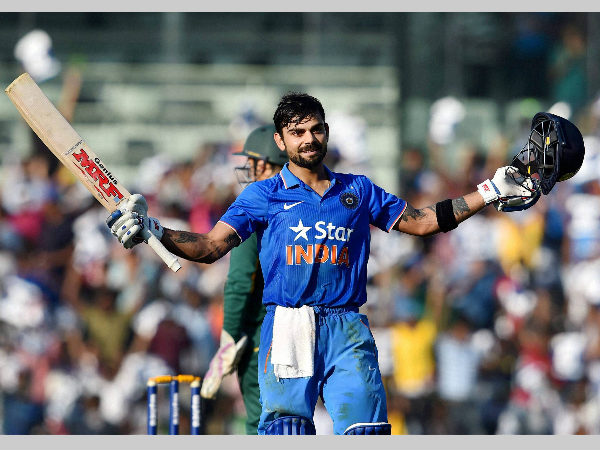1st ODI: Virat Kohli breaks Sachin Tendulkar's record for most centuries in successful chases