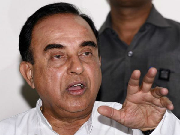 Will Enact Law To Build Temple Tweets Subramanian Swamy