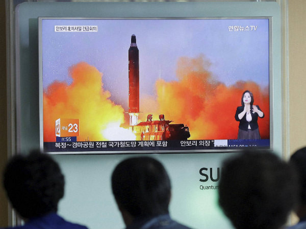 North Korea fires ballistic missile, to test the Trump's response