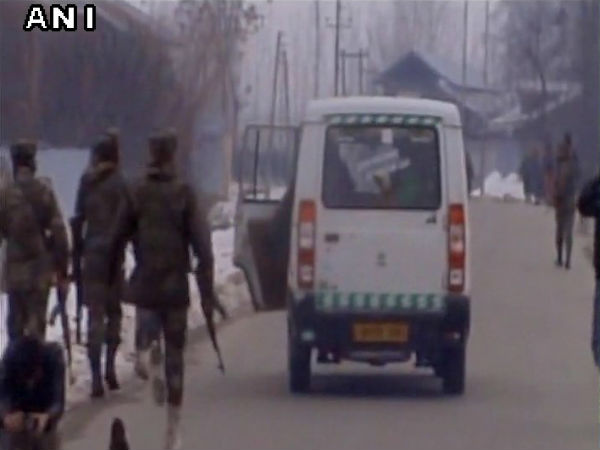 Two militants gunned down in Baramulla in Jammu and Kashmir