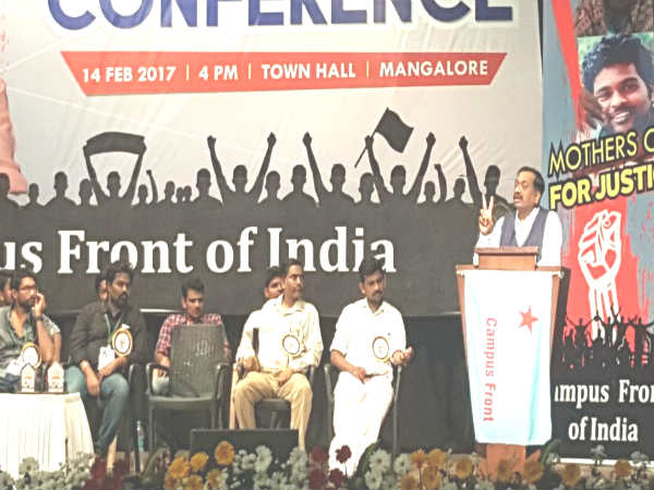 Communalism and castisam PM modi's model says social agonist Jignesh Mavani in Mangaluru