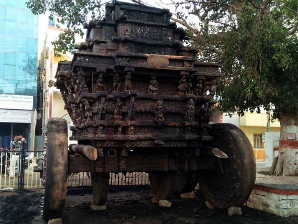 ಚಾಮರಾಜೇಶ್ವರ ರಥಕ್ಕೆ ಬೆಂಕಿ, ಫೆ.20ರಂದು ಚಾಮರಾಜನಗರ ಬಂದ್