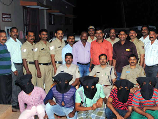 Bantwal gang which bound family and dug ground for hidden treasure arrested