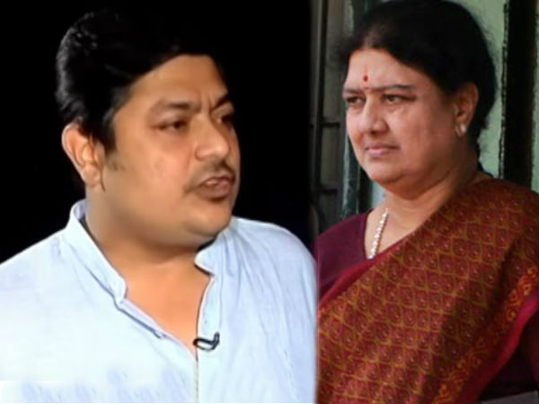 Sasikala wants Deepak Jayakumar to become Chief Minister
