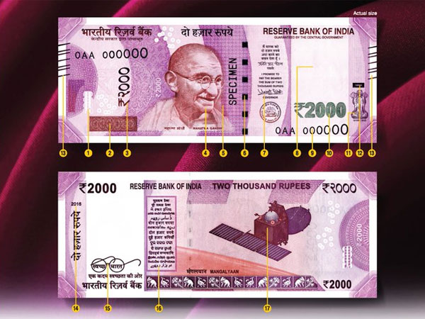 Fake Rs 2,000 note: 11 out of 17 security features replicated