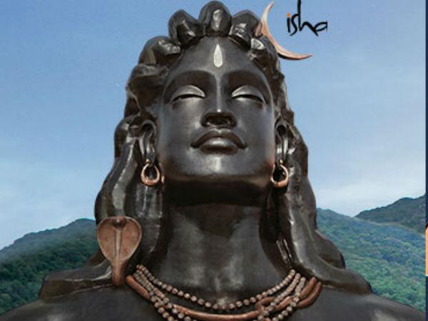 ವಿಶ್ವದ ಅತೀ ದೊಡ್ಡ 'ಆದಿಯೋಗಿ' ಪ್ರತಿಮೆ ಮೋದಿಯಿಂದ ಅನಾವರಣ