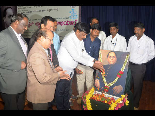 In May Ambedkar Jayantyutasava is organized by government:HC Mahadevappa