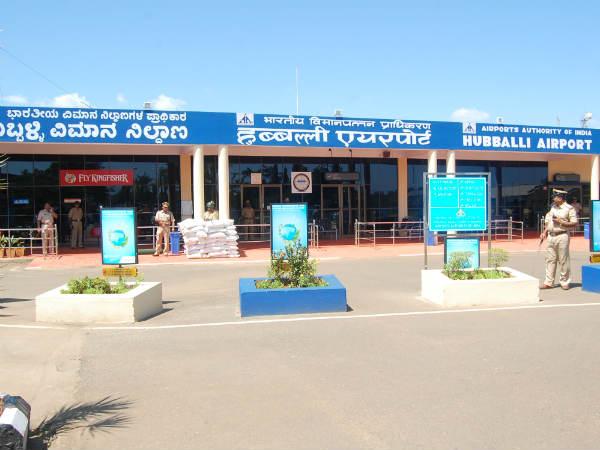 ಸಿಬ್ಬಂದಿಗಳ ನಿರ್ಲಕ್ಷತನ, ಹುಬ್ಬಳ್ಳಿ ವಿಮಾನ ನಿಲ್ದಾಣದಲ್ಲಿ ಬೆಂಕಿ