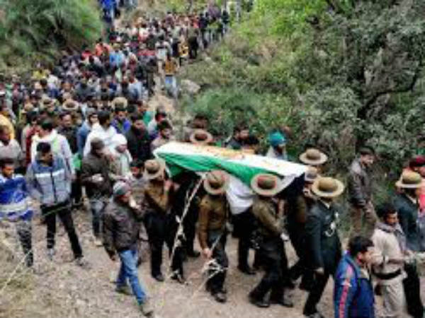 martyr soldier Sandeep The body Funeral Today(Feb 1) afternoon