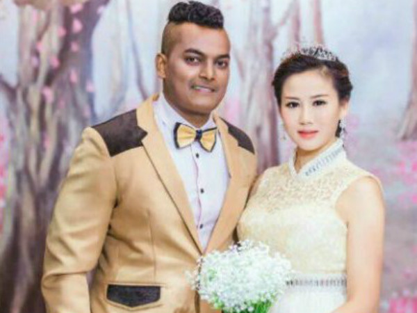 Valentines day special.. Mysuru boy and China girl exchanged ring