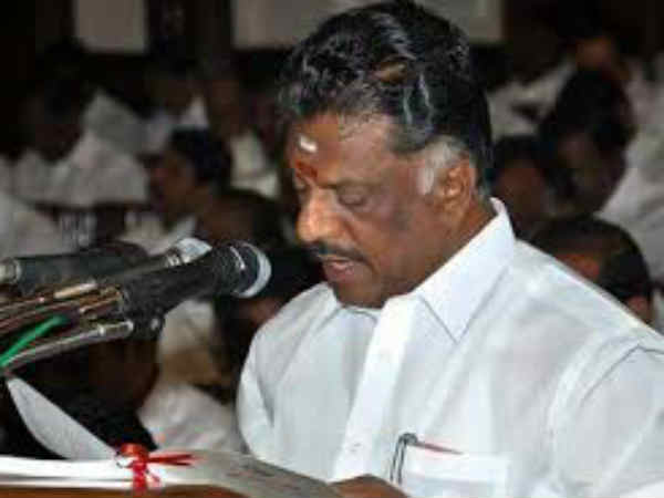Probe into Jayalalitha's death is initiated says Tamilnadu CM Panner Selvam