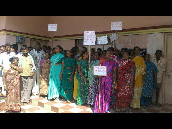 Why Tumakuru PDO does not come to dalit colonies?
