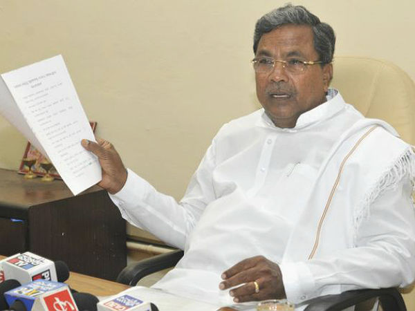 Karnataka is ready to tackle severe drought : Siddaramaiah