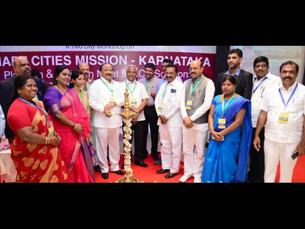 Minister Roshan Baig inaugurated two-day state-level workshop on Smart Cities Mission - Karnataka at mangaluru