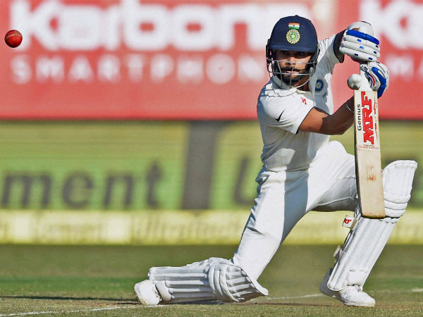 Kohli nears another double ton, hosts 477/4 at Lunch