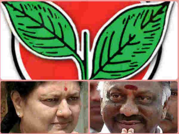 ಶಶಿಕಲಾಗೆ 'ಟೋಪಿ', ಪನ್ನೀರ್ ಸೆಲ್ವಂಗೆ 'ವಿದ್ಯುತ್ ಕಂಬ'
