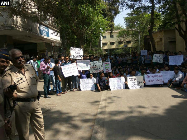 Maharashtra: Resident Doctors protest over recent incidents of assault